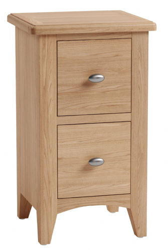 Greenwich Light Oak Small Bedside Cabinet